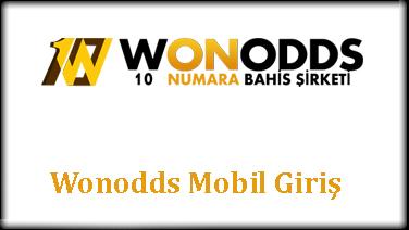 Wonodds Mobil Giriş