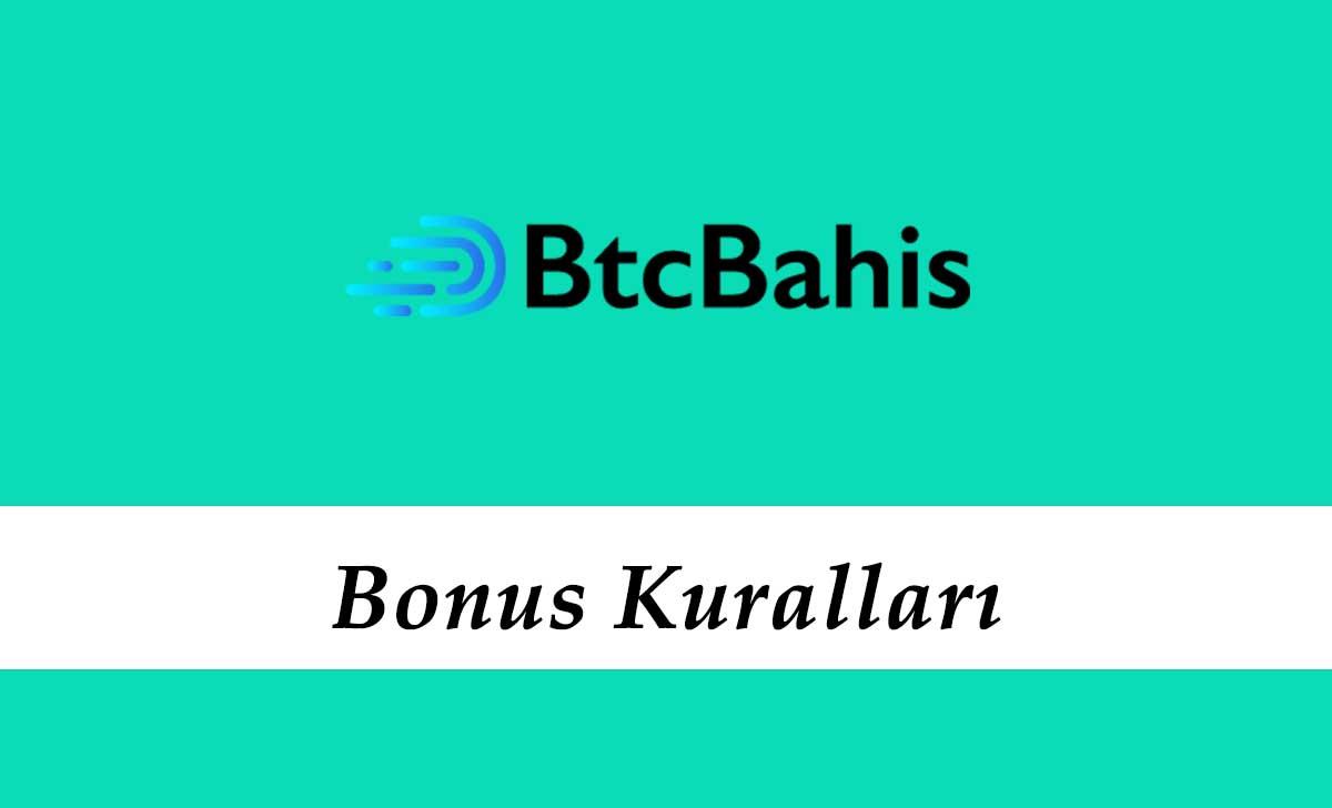 Btcbahis Bonus Kuralları