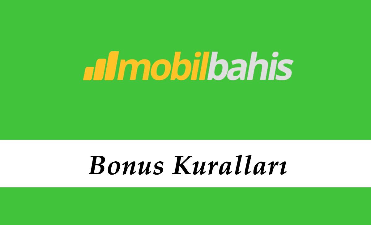Mobilbahis Bonus Kuralları